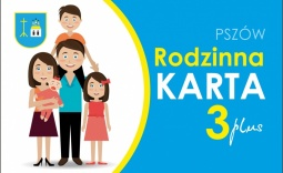 Logo karty rodziny 3 plus - Kliknięcie w obrazek spowoduje wyświetlenie jego powiększenia