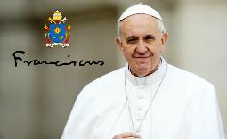 papież Franciszek - Kliknięcie w obrazek spowoduje wyświetlenie jego powiększenia