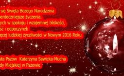 życzenia świąteczne - Kliknięcie w obrazek spowoduje wyświetlenie jego powiększenia