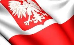 flaga i godło - Kliknięcie w obrazek spowoduje wyświetlenie jego powiększenia