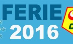 napis Ferie 2016 - Kliknięcie w obrazek spowoduje wyświetlenie jego powiększenia