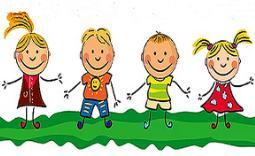 grafika przedstawiająca dzieci - Kliknięcie w obrazek spowoduje wyświetlenie jego powiększenia